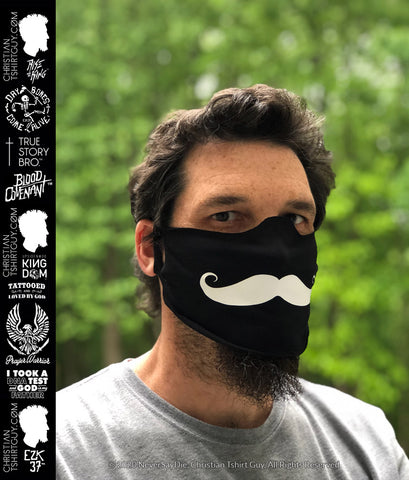 Mustache | Social Distancing Mask