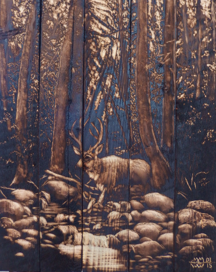 Landscape Art - Wildlife Art by western and wildlife artist Mark Mahorney