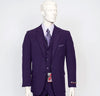 Pacelli 3pc Purple Suit CAMERON-10049