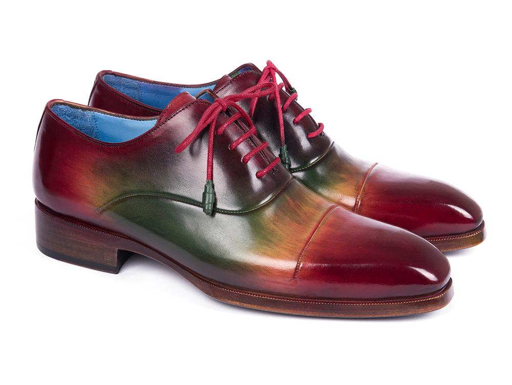 Paul Parkman Captoe Oxfords Multicolor - 1744-MLT