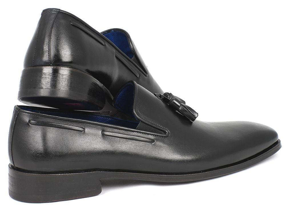 Paul Parkman Tassel Loafer Black - 5141-BLK
