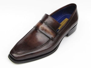 Paul Parkman Loafer Bronze Hand Painted Shoes - 012-BRNZ