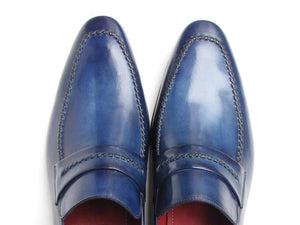 Paul Parkman Loafer Shoes Navy - 068-BLU