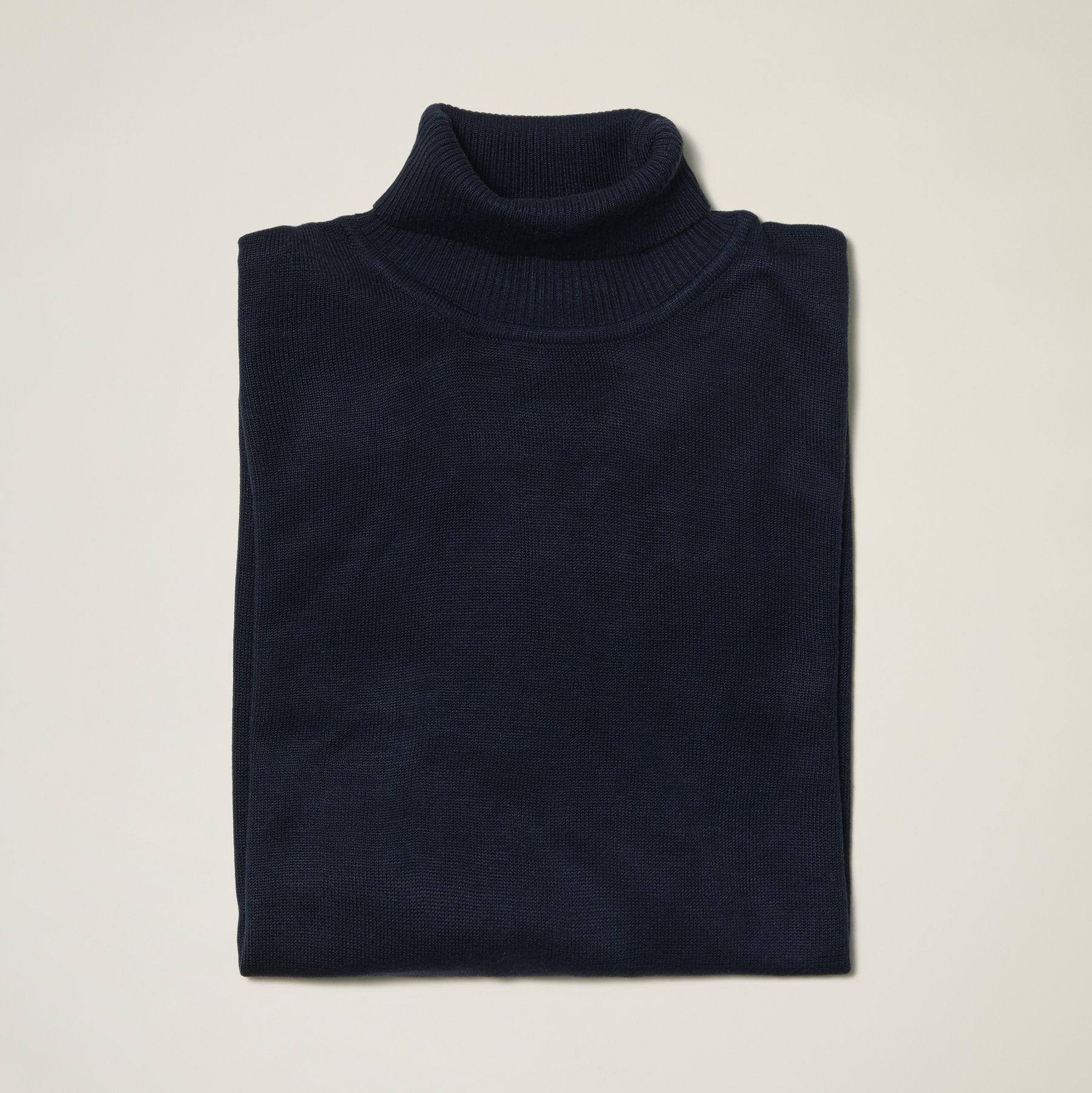InSerch Acrylic Turtleneck Navy (4708)