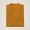 Inserch Cotton Blend Mock Neck Sweater Gold