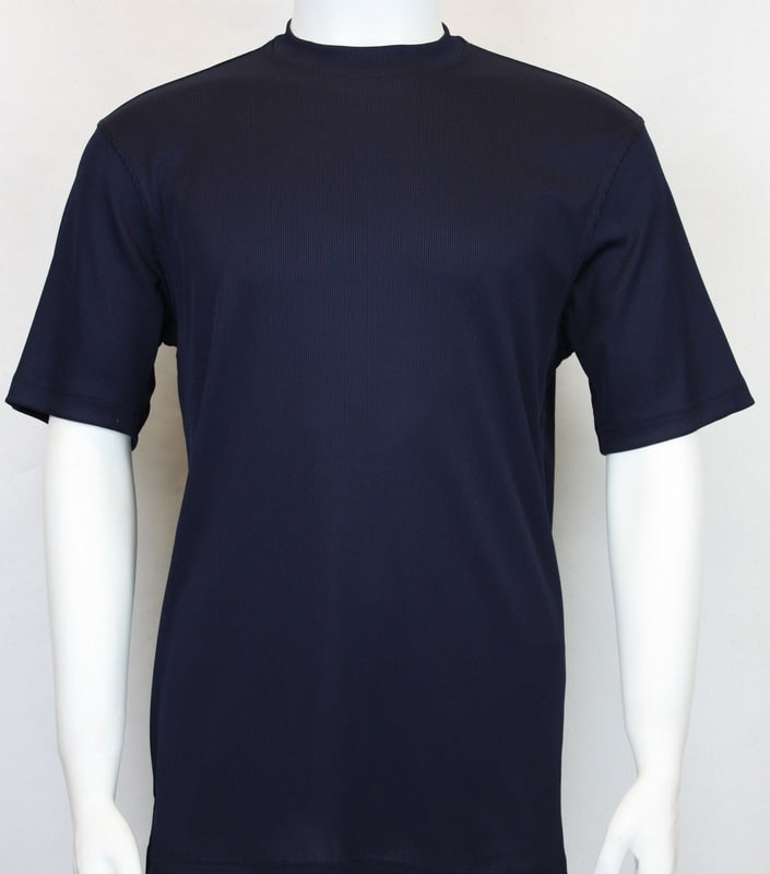 Bassiri S/SL Mock-Neck (218NAVY)