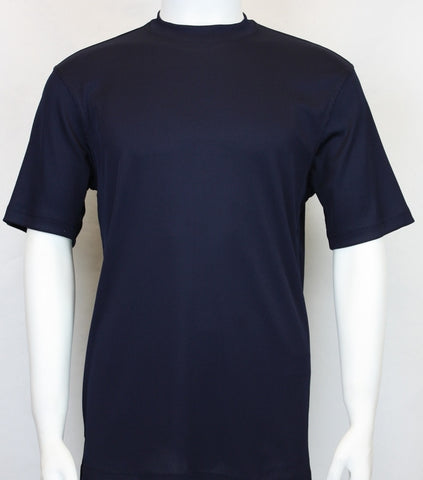 Bassiri S/SL Mock-Neck (218MIDNIGHTBLUE)