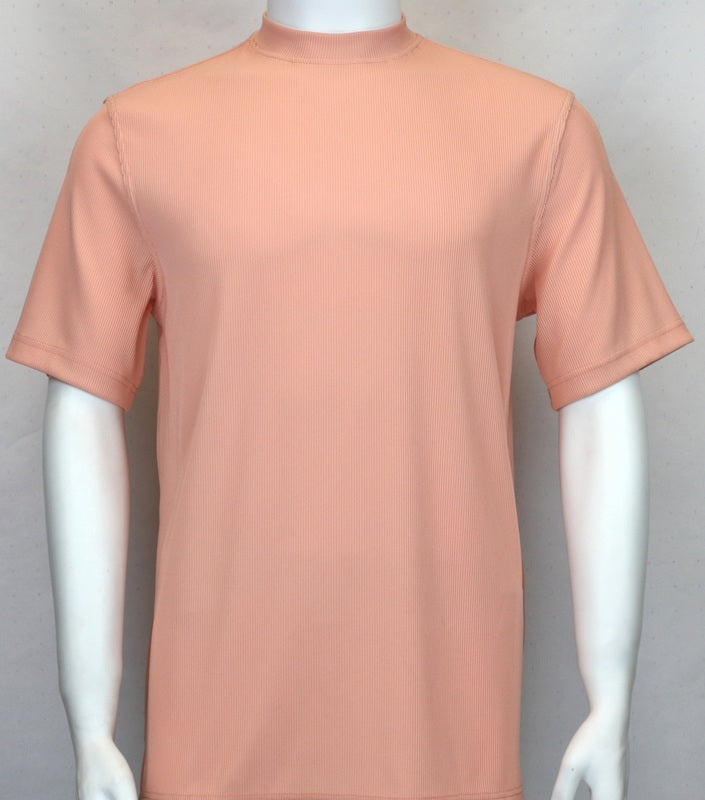 Bassiri S/SL Mock-Neck (218PEACH)