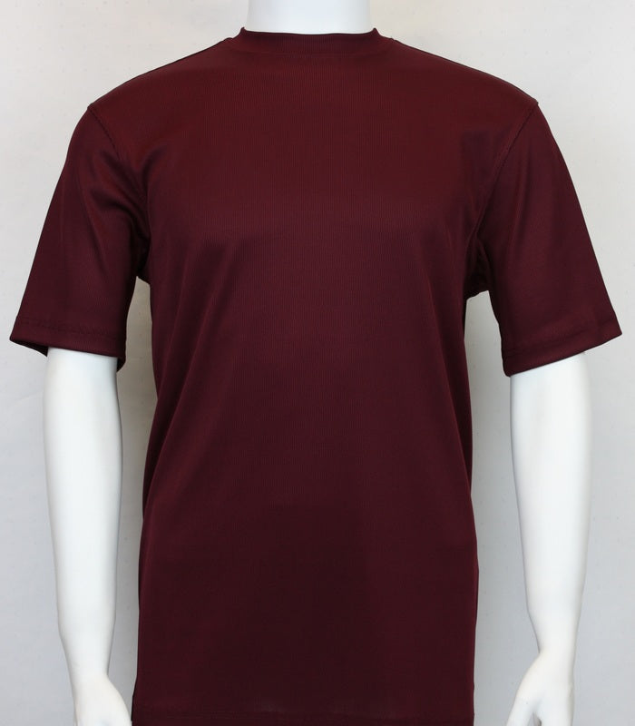 Bassiri S/SL Mock-Neck (218PLUM)