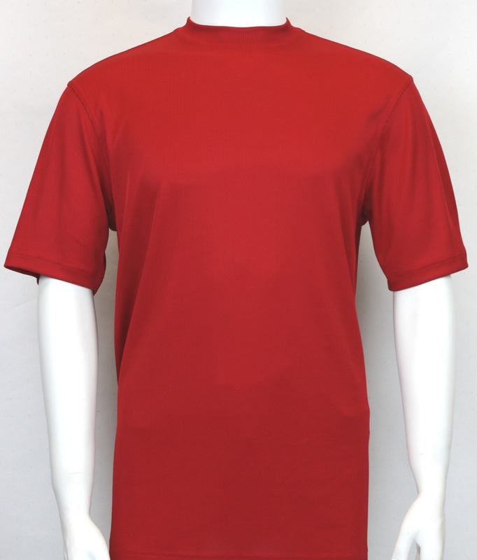 Bassiri S/SL Mock-Neck (218RED)