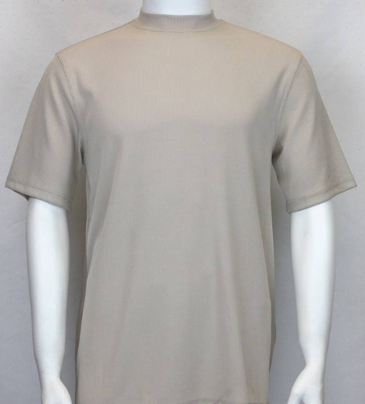 Bassiri S/SL Mock-Neck (218TAN)