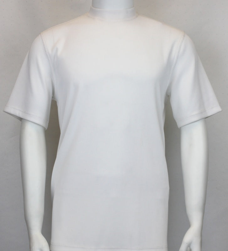 Bassiri S/SL Mock-Neck (218WHITE)