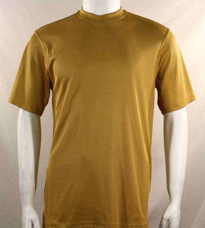 Bassiri S/S V-Neck T-Shirt (Gold)