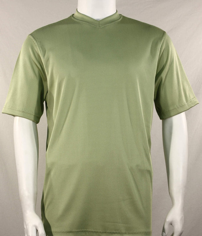 Bassiri S/S V-Neck T-Shirt (Mint)