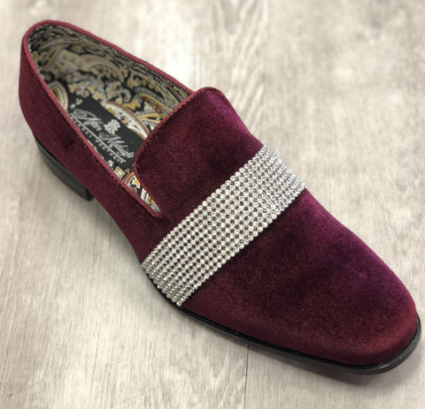 After Midnight Formal Shoe 6715 Burgundy