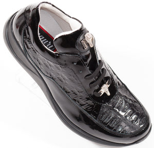 Mauri KING Black Patent & Baby Crocodile 8900/2