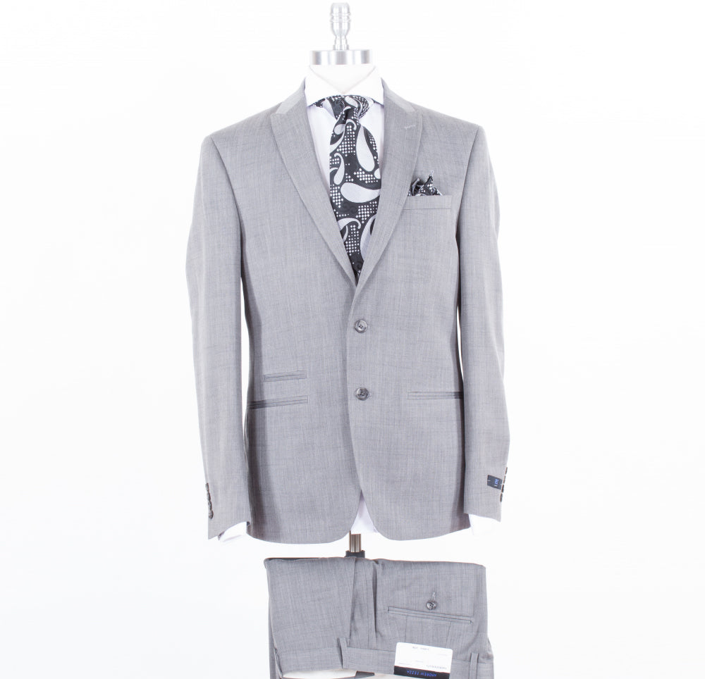 Andrew Fezza Grey Slim Fit Suit FAER2FAV0171