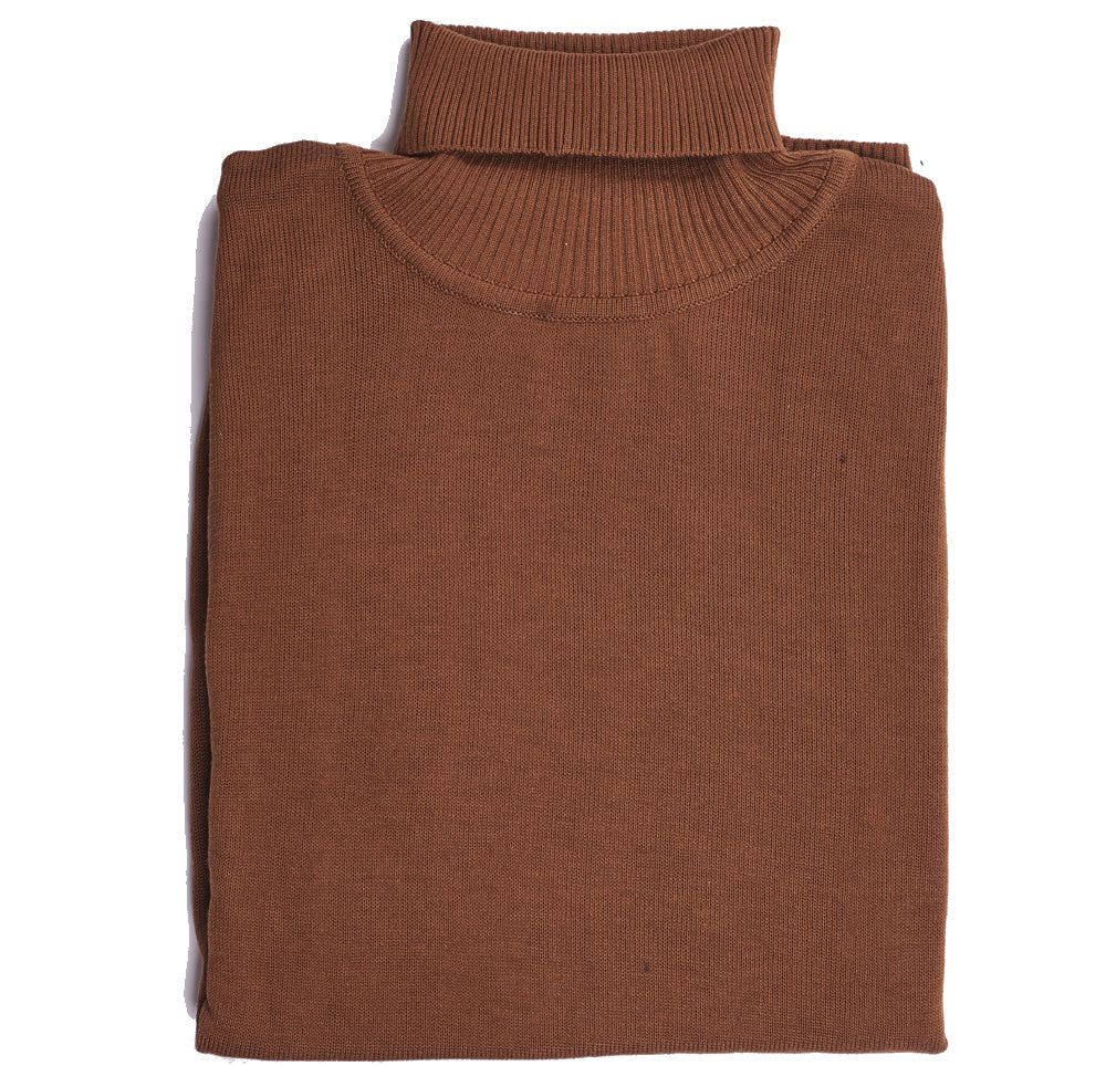 InSerch Acrylic Turtleneck Rust (4708)