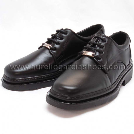 5054-BELKA Black Pinoso's Shoes