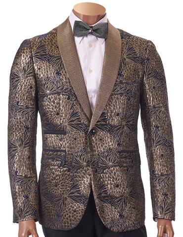 Inserch EZX Young Slim Fit Blazer 5519-38 Gold