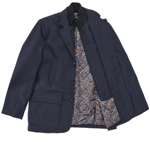Inserch 4-Pocket Blazer with Quilted Lining 567-11 Navy