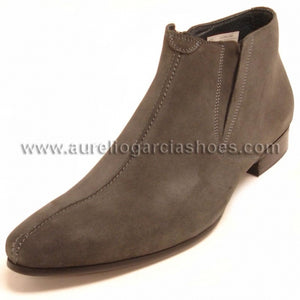 FI-3101-S Grey Suede Encore By Fiesso