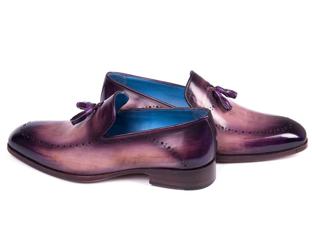 Paul Parkman Tassel Loafer Purple - 66T80-PRP