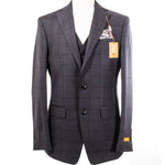Tallia Orange Grey with Red/Blue Window Pane VDVA3SJX0943