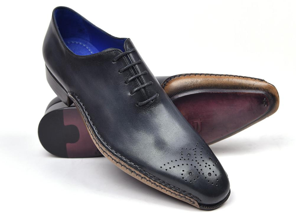 Paul Parkman Opanka Construction Oxfords Anthracite Gray - 86A5-ANT