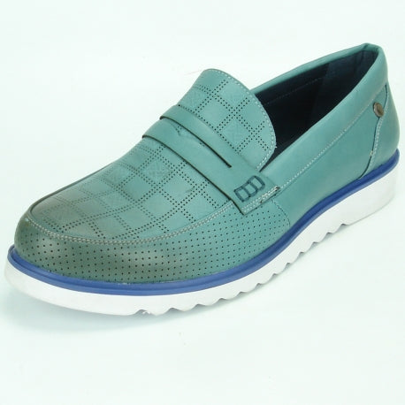 FI-2326 Blue Slip on Encore by Fiesso