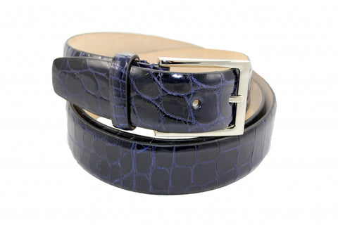 Fennix Navy Alligator Belt