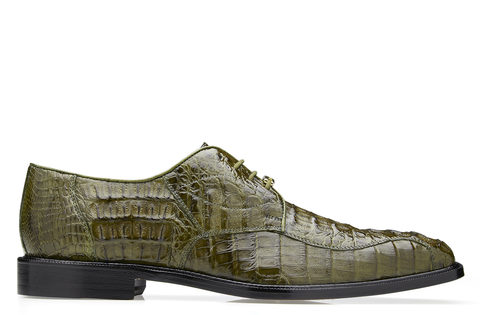 Belvedere - Olive - Chapo, Hornback Crocodile Dress Shoes - 1465