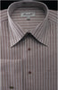 Fratello French Cuff Dress Shirt FRV4906P2 Dark Brown