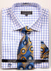 Avanti Uomo French Cuff Dress Shirt DN72M Royal
