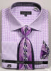 Avanti Uomo French Cuff Dress Shirt DN76M Lilac