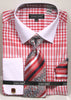 Avanti Uomo French Cut Dress Shirt DN81M Red