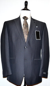 Sean John Modern Fit Suit Charcoal SRDI257Z8586