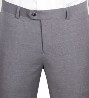 Porto Gray, Slim Fit, Pure Wool Suit by Tiglio Luxe E09063/26
