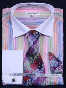 Fratello French Cuff Dress Shirt FRV4122P2 Purple