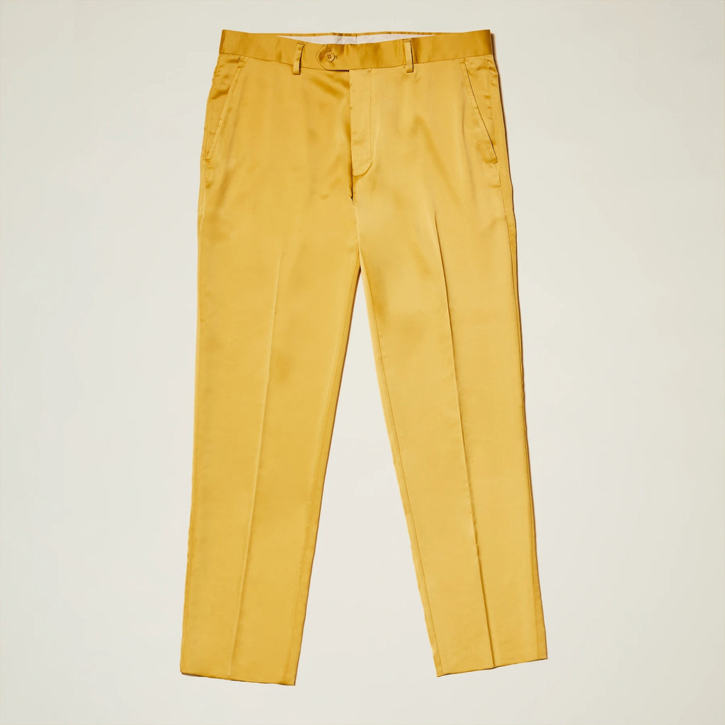Inserch Satin Pants with Stretch P3901-38 Gold