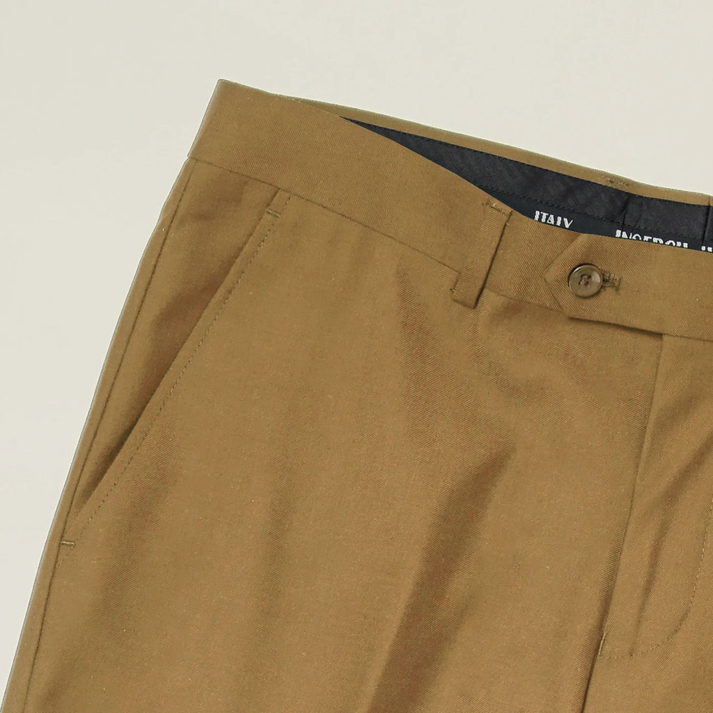 Inserch Slim Fit T/R Pants P3199-09 Khaki