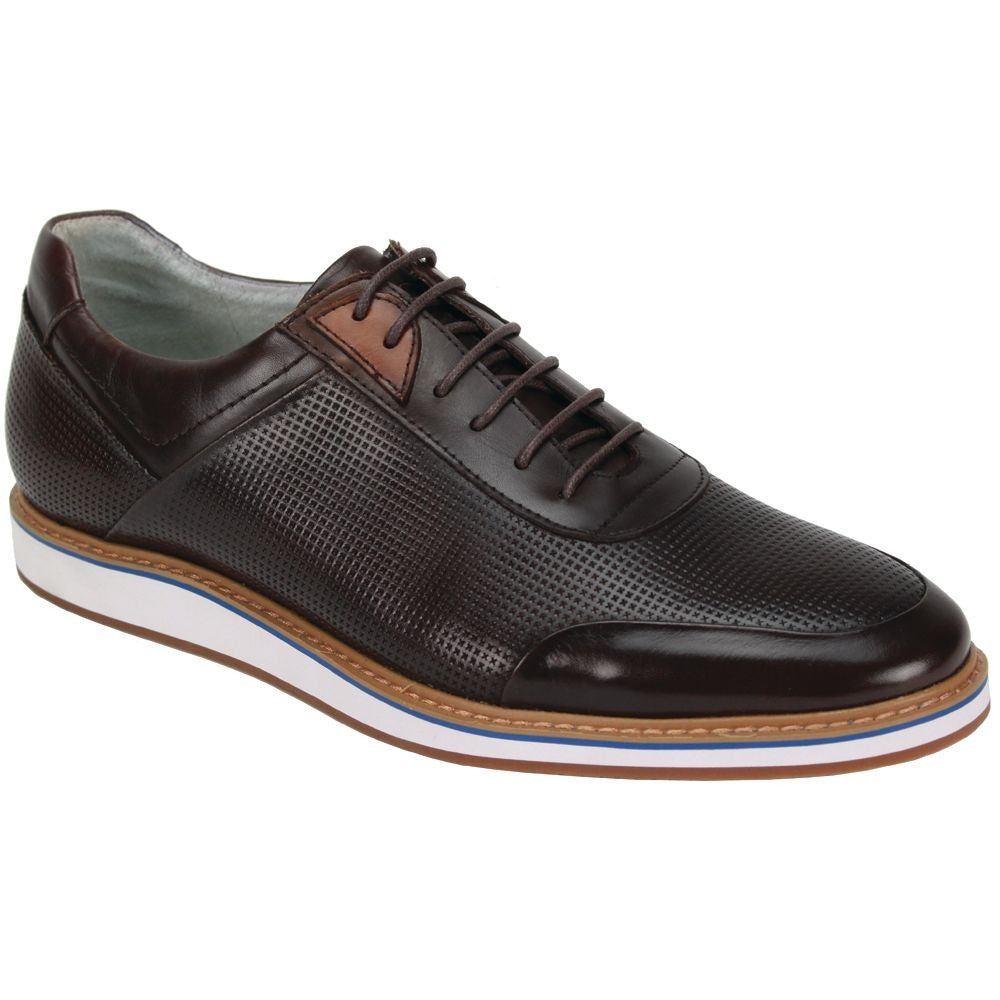 Giovanni Lorenzo Brown Leather Shoes