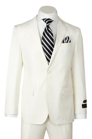 Tiglio Luxe Novello Off White Suit