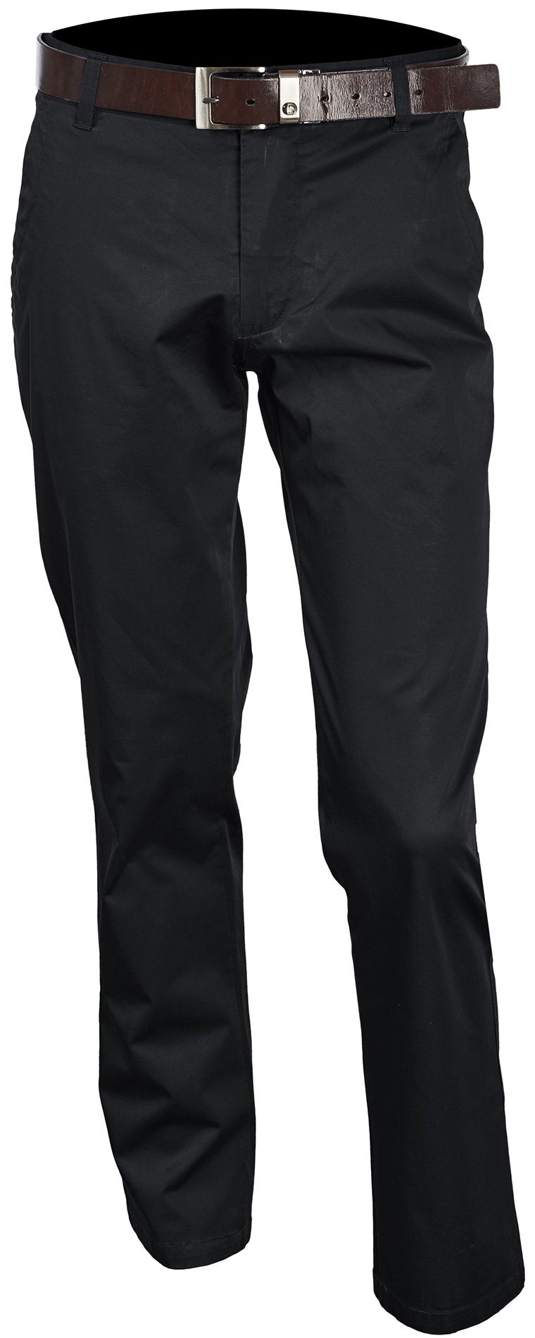 Inserch Brushed Cotton Chinos P021-01 Black
