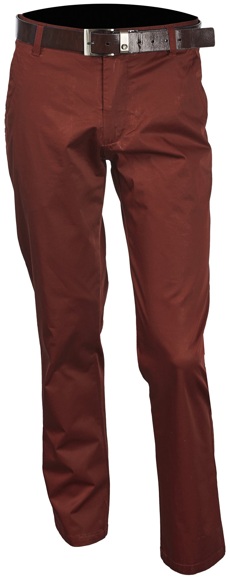 Inserch Brushed Cotton Chinos P021-31 Burgundy