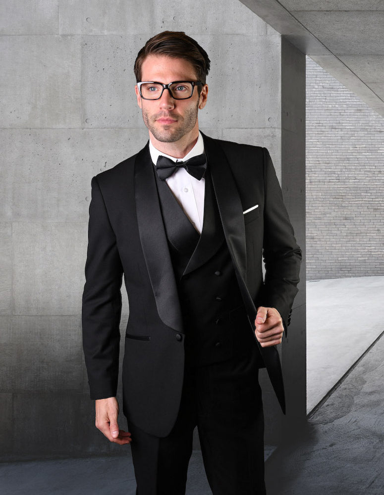 STATEMENT CLOTHING | TUX-RL-BLACK