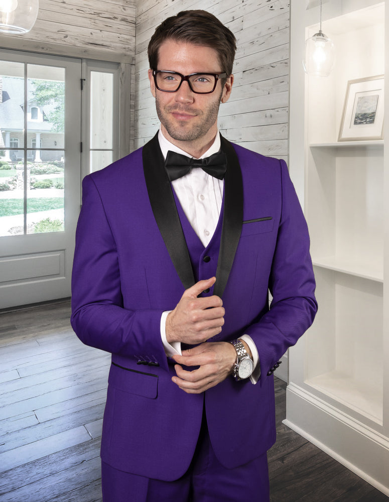 STATEMENT CLOTHING | TUX-SH-PURPLE