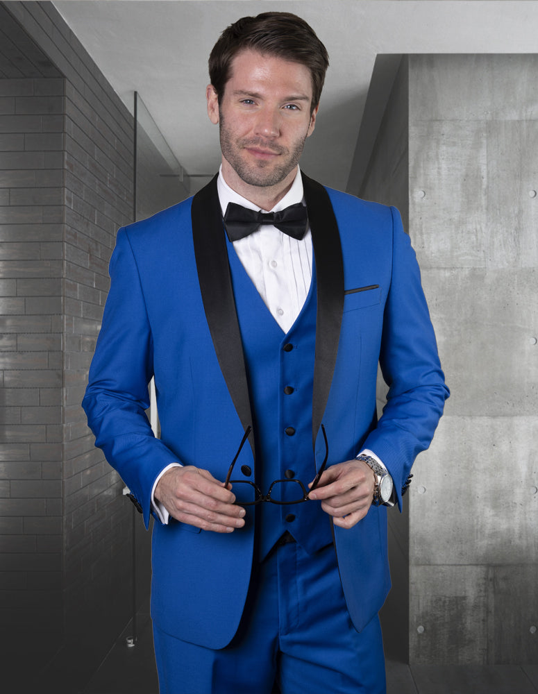 STATEMENT CLOTHING | TUX-SH-ROYALBLUE
