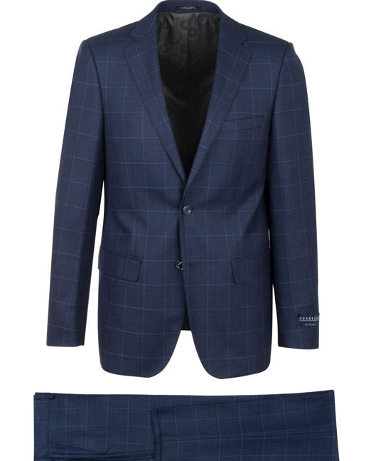 Canaletto Suit Porto LG8878f/435/2 Blue Plaid