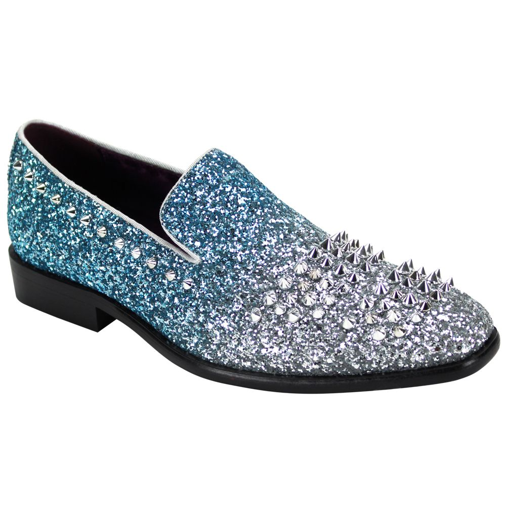 After Midnight Formal Shoe 6860 Turquoise/Silver